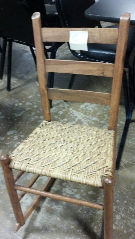 Antique Oak Sewing Rocker Rocking Chairs Dining