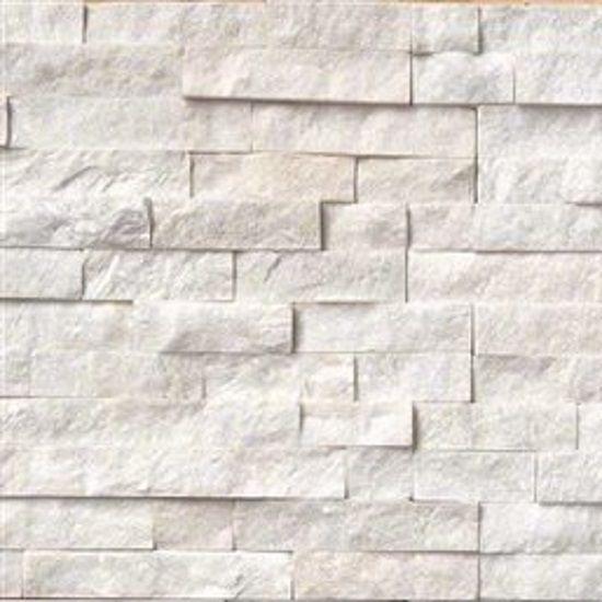 arctic white ledger panel