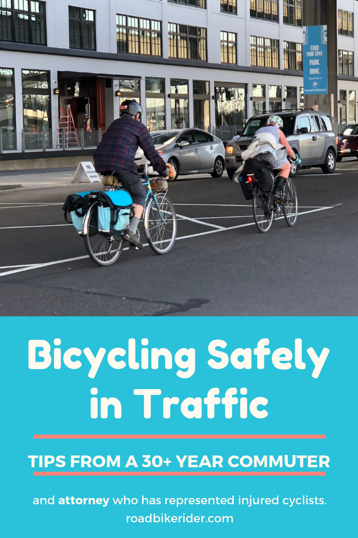 Safe Cycling Tips From A 30 Year Bicycle Commuter And Attorney