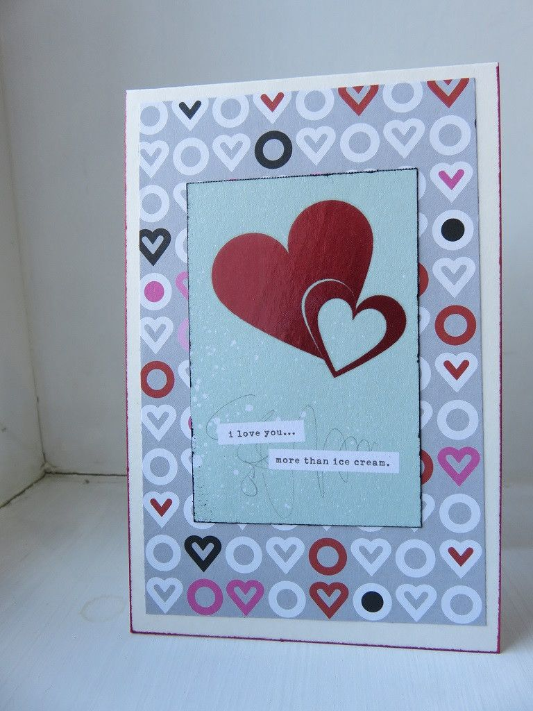 Love Greeting Card Small 001 Card Stock And Cards