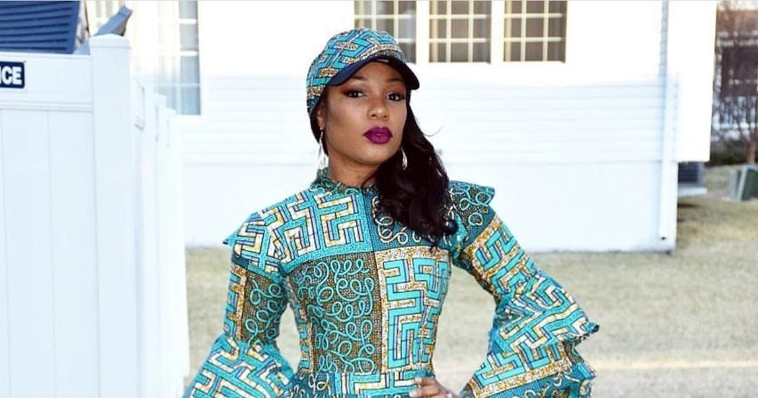 f01edd31e08 Superb Ankara Jumpsuits with Face Cap for Beautiful Ladies   ankara jumpsuit styles  ankara styles