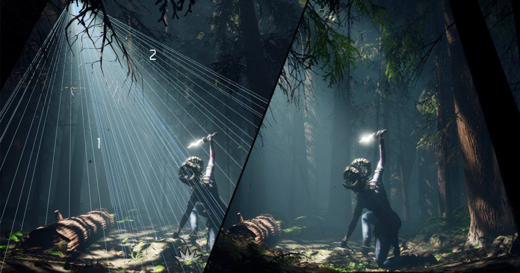 Setting Up Atmospheric Forest Lighting in UE4 | UE4 Tutorial
