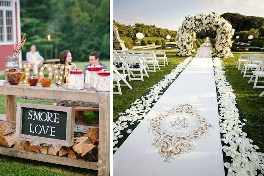 Fun Wedding Ideas For Guests Beach Theme Wedding Ideas Pinterest Outdoor Wedding Decorations In 2020 Outdoor Wedding Decorations Wedding Themes Beach Theme Wedding