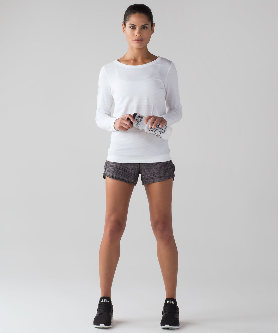5684a7fd79497 Lululemon Swiftly Tech Long Sleeve (Breeze) *Relaxed Fit - White ...