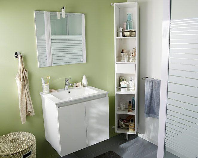 Castorama  Meuble de salle de bains Prims Une salle de bains
