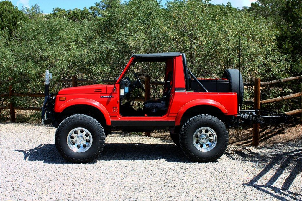 Sell Used 1994 Suzuki Samurai 10630 Actual Miles 1994 4 Wd Su