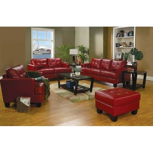 Leather Sofa Loveseat Set, Red Leather Sofa And Loveseat Set
