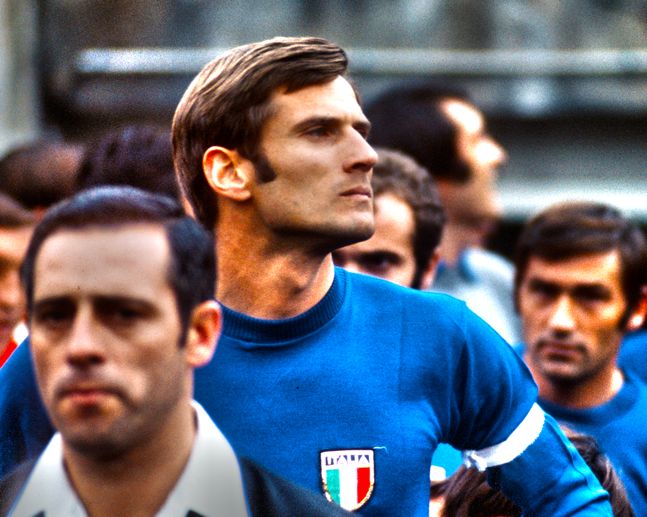 Inter and Italy legend Giacinto Facchetti 1970s Died 10 years