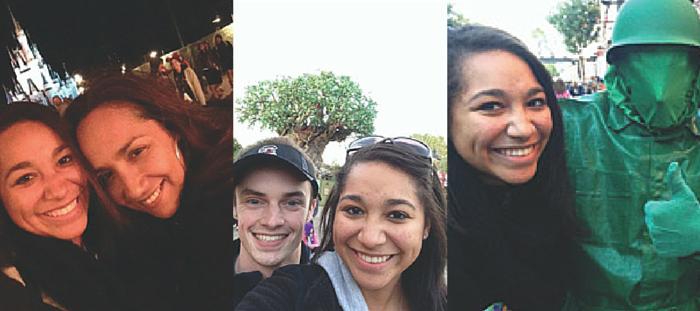Disney Selfie Montage
