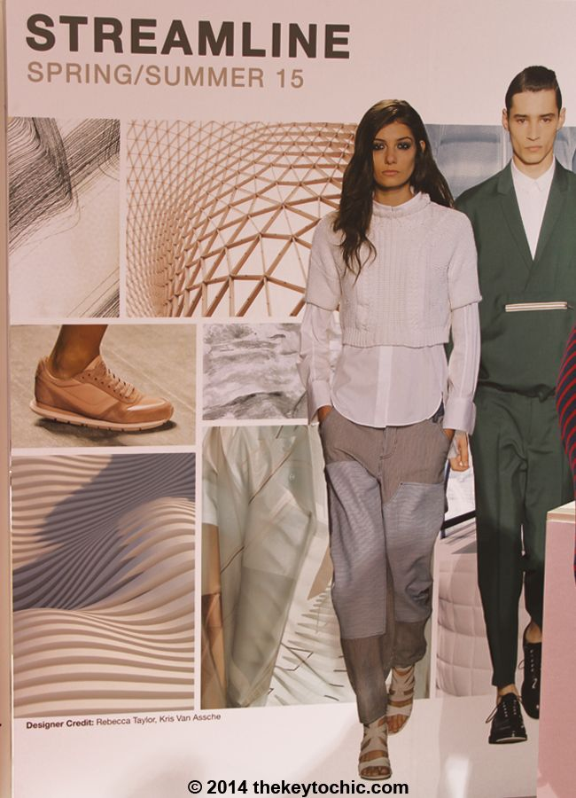 the Streamline fashion trend for spring summer 2015 as seen on The Key To Chic