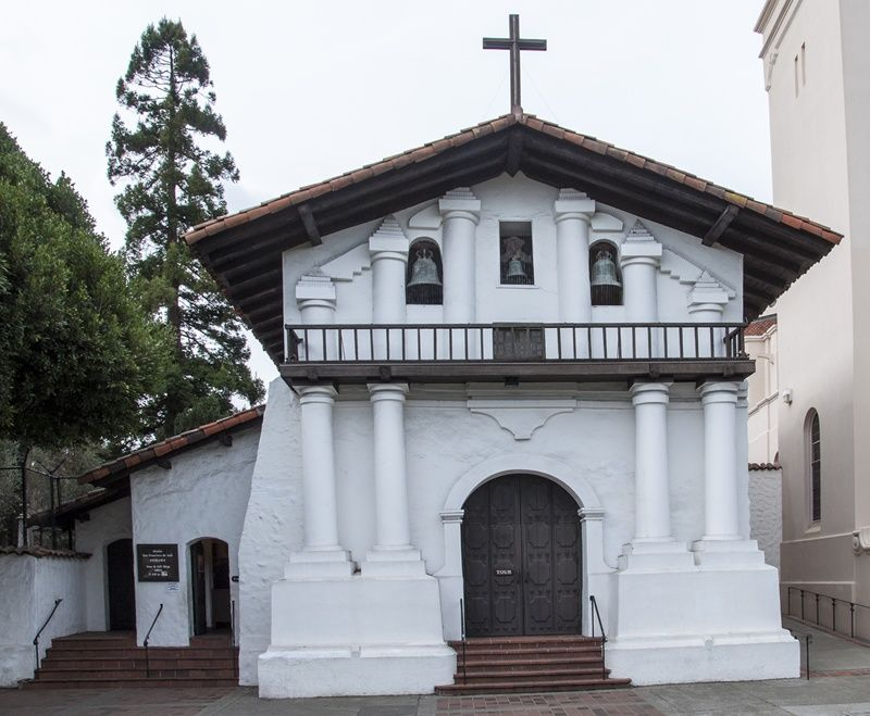 Mission San Francisco De Asis Commonly Known As Dolores Is The Oldest Building