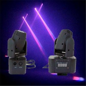 Hot Item Dj Pub Ktv 10w Rgbw Led Mini Moving Head Beam Light Dj Lighting Beams Stage Lighting