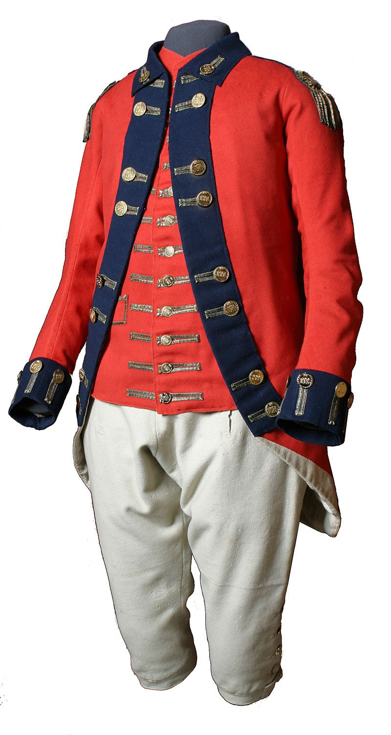 British Redcoat Uniform Jacket 1770s. $350.00, via Etsy. I think I ...