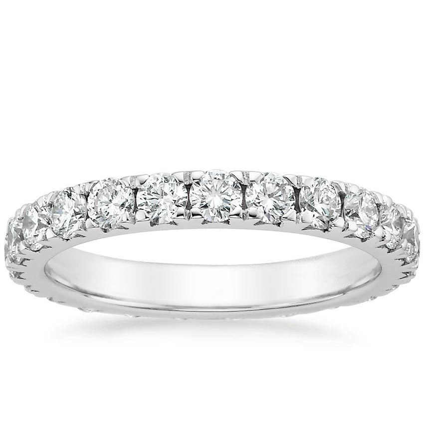 Platinum Luxe Anthology Eternity Diamond Ring 1 12 ct tw from