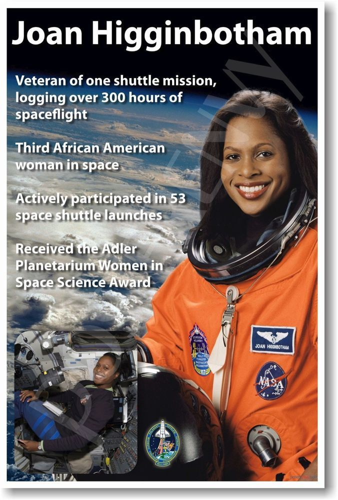 Details about Joan Higginbotham - NEW NASA African ...