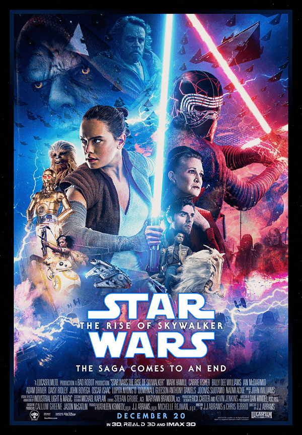 Star Wars The Rise Of Skywalker Fanmade Posters In 2020 Star Wars Episodes Star Wars Wallpaper Star Wars Painting