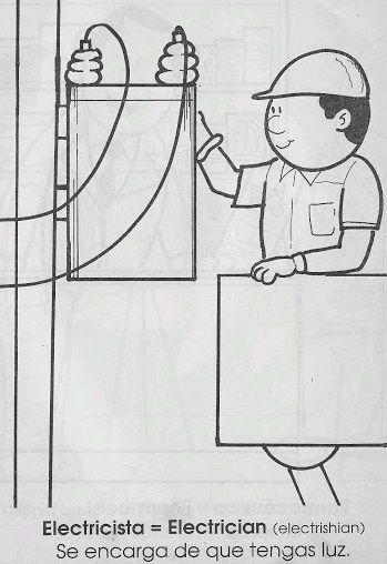 Trabajadores - un libro para colorear | español stuff | Pinterest ...