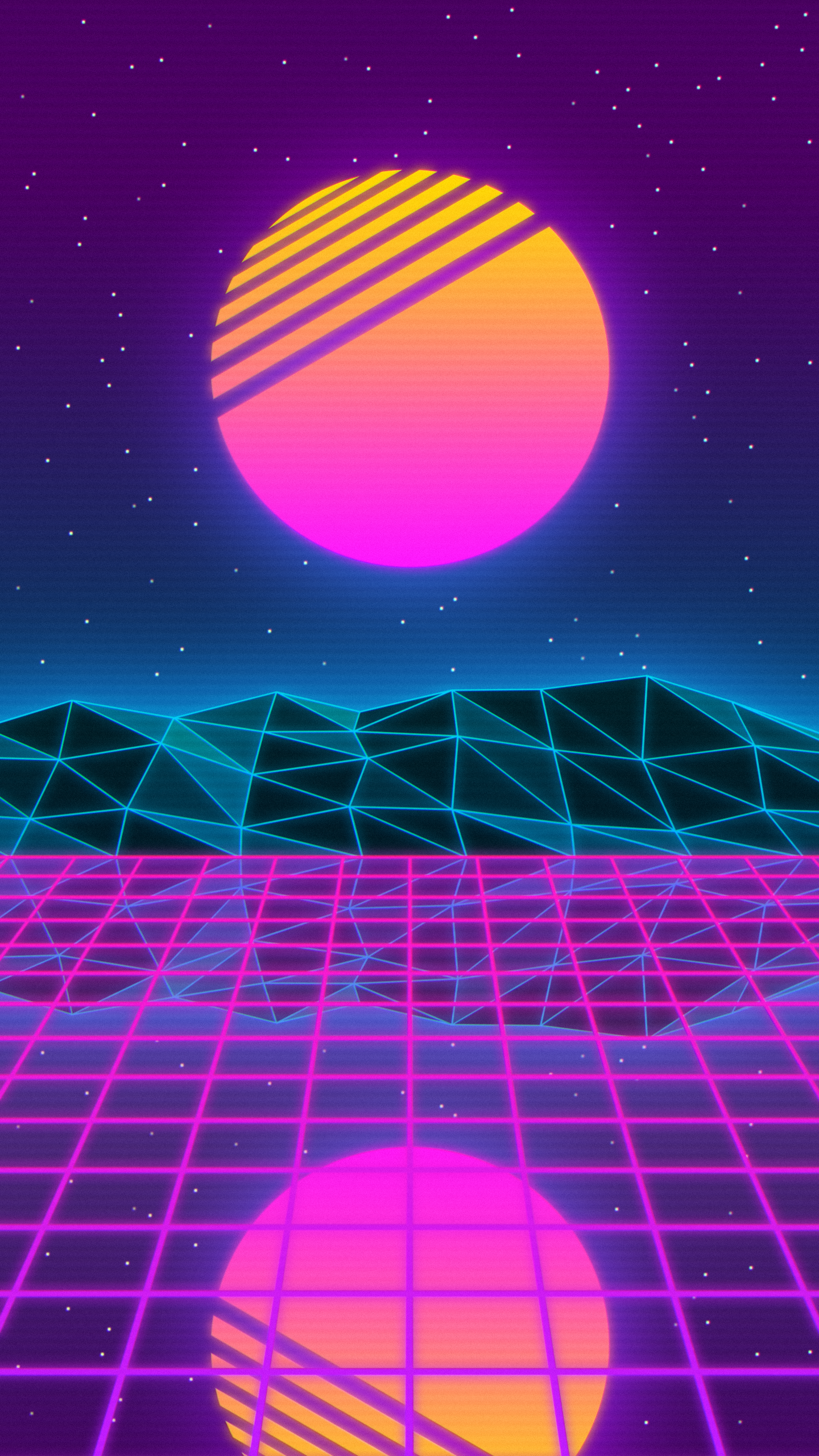 City Pop Aesthetic Wallpaper