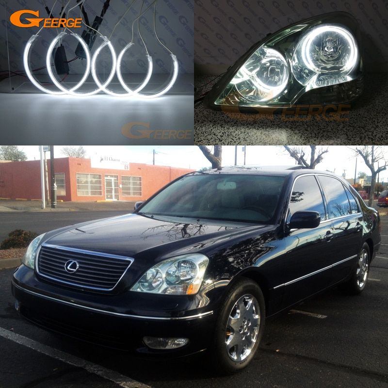 Cheap Ring Ring Buy Quality Ring For Directly From China Ring Kit Suppliers For Lexus Ls430 2001 2002 2003 Excellent Angel Lexus Lexus 430 Bright Headlights