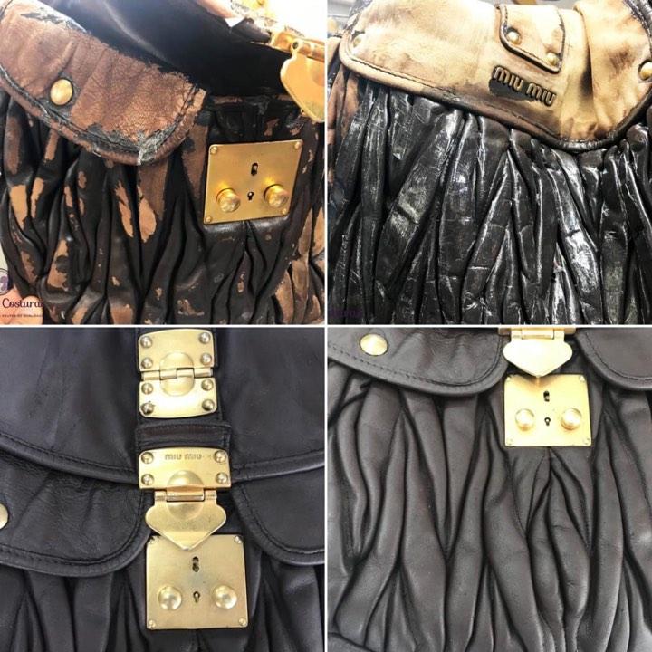 Pinte y renueve los bolsos de diseño de Chanel y Miu Miu en el estudio