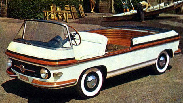 3e9ffb24e23e 1956 Fiat Multipla Marine Concept by Pininfarina  1950s   Concept ...
