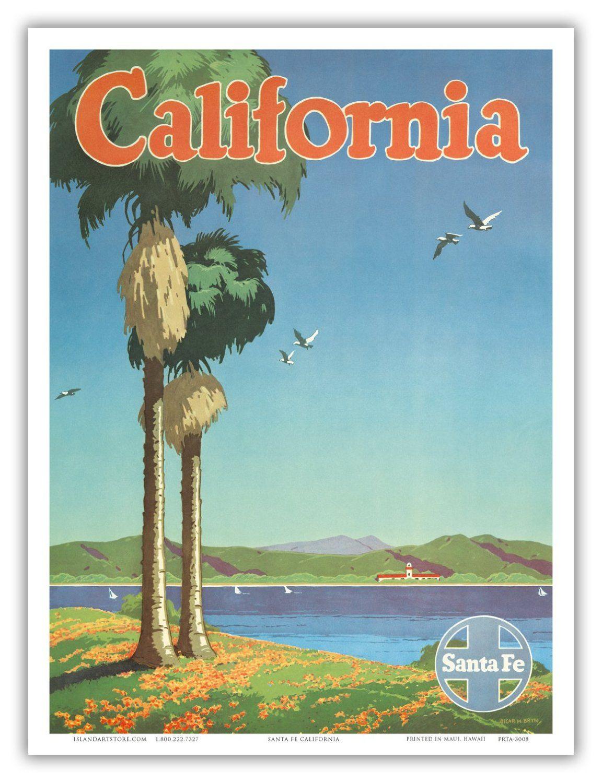 California Vintage Posters
