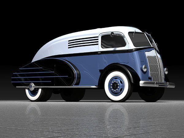 (10) Divco's and other cool Delivery vans