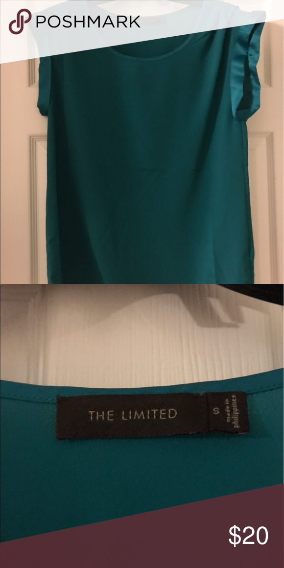 Limited blouse Short sleeve Limited blouse. Very nice cut and lays nicely. The Limited Tops Blouses