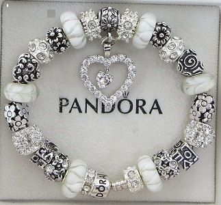 Authentic Pandora Bracelet with European Beads by ExquisiteAellas
