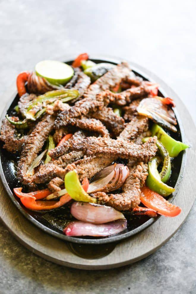 The Best Beef Fajitas #beeffajitarecipe
