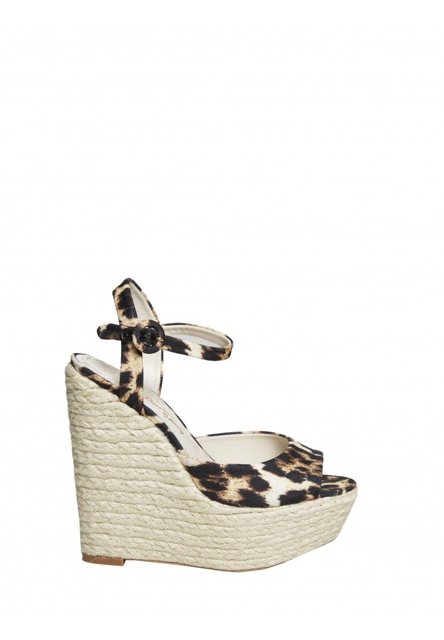 Platform perfection. In a totally on trend animal print b2f30635f43