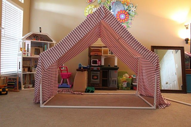 Princess House Made Out Of Pvc Piping So Clever Amp Simple