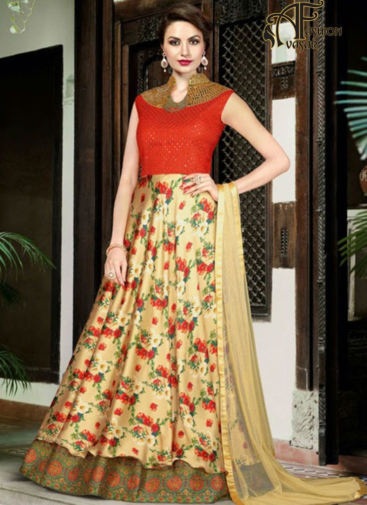 Party Wear Ethnic Gowns | gown | Pinterest | Party wear, Ethnic and ...