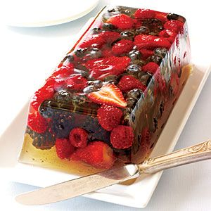 Very Berry Gelatin #dessertrecipes