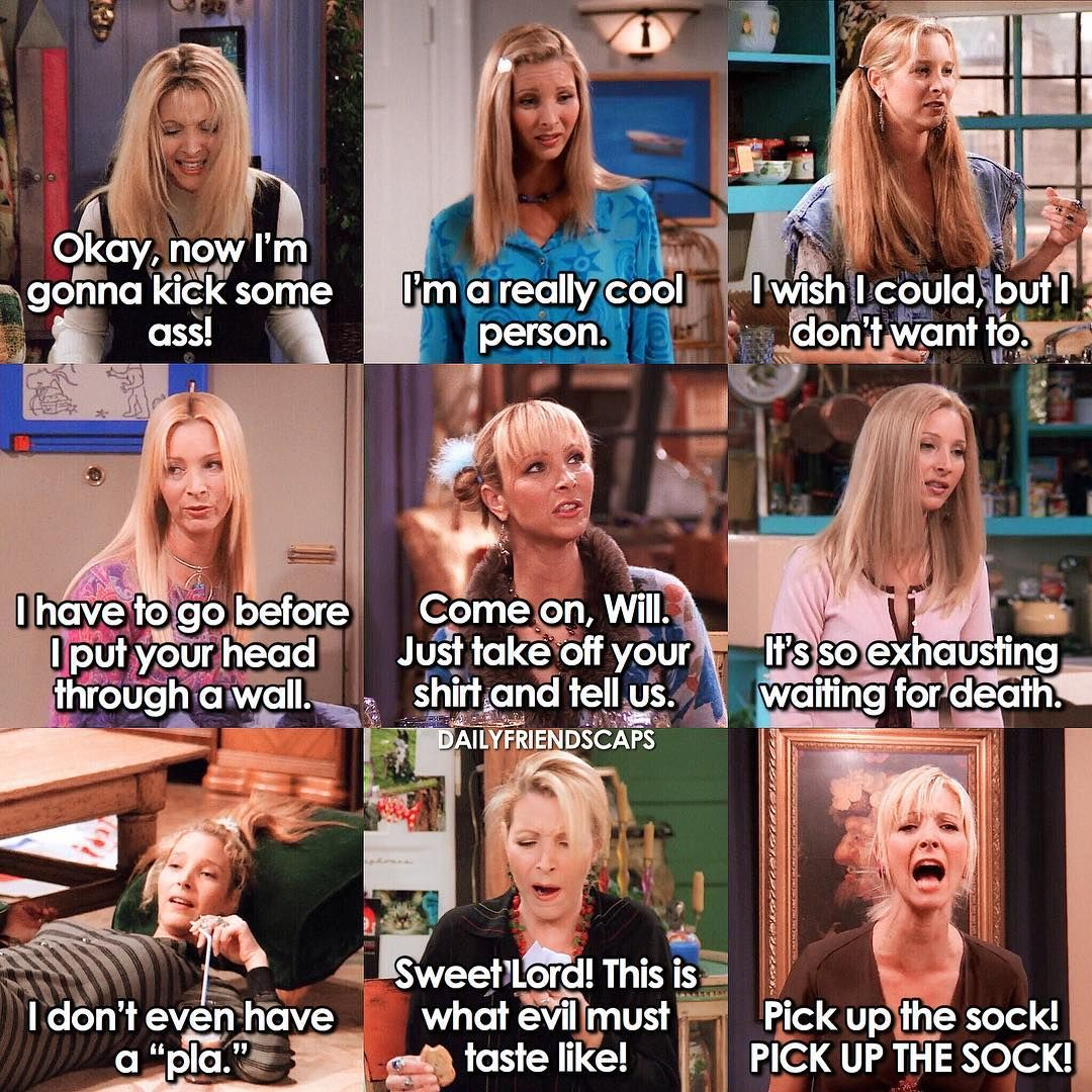 F R I E N D S Which Pheebs Are You Today Przyjaciele