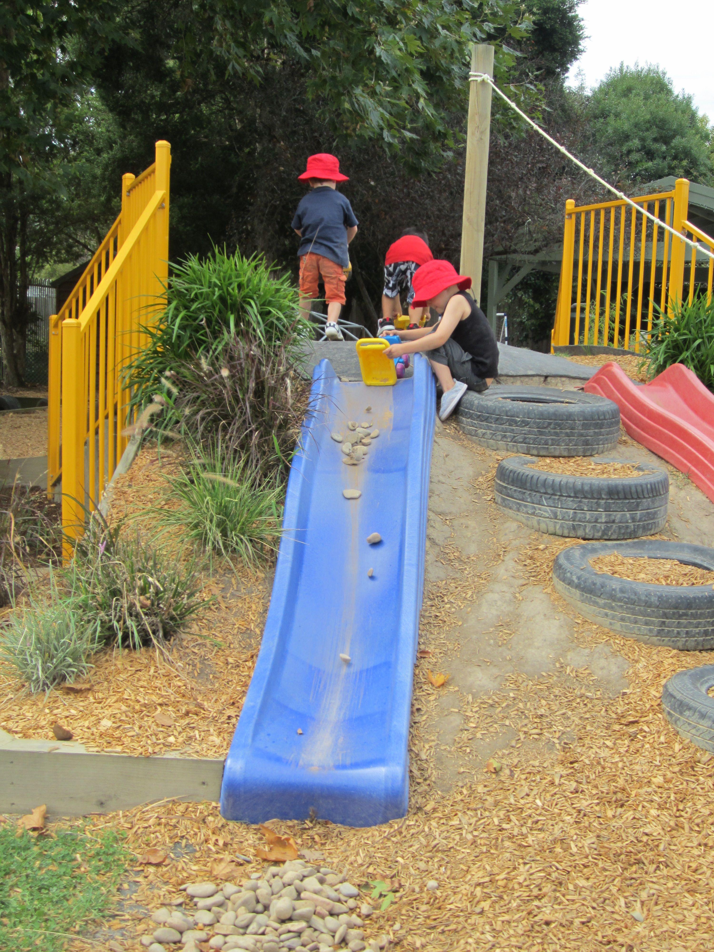 slide on hill | backyard play | pinterest | spielplätze, gärten und