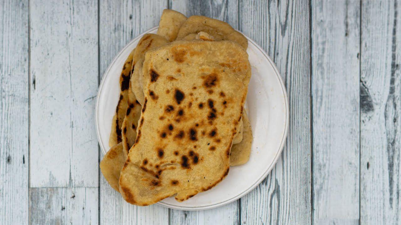Sourdough NAAN BREAD | Recipe for flatbread with sourdough ...