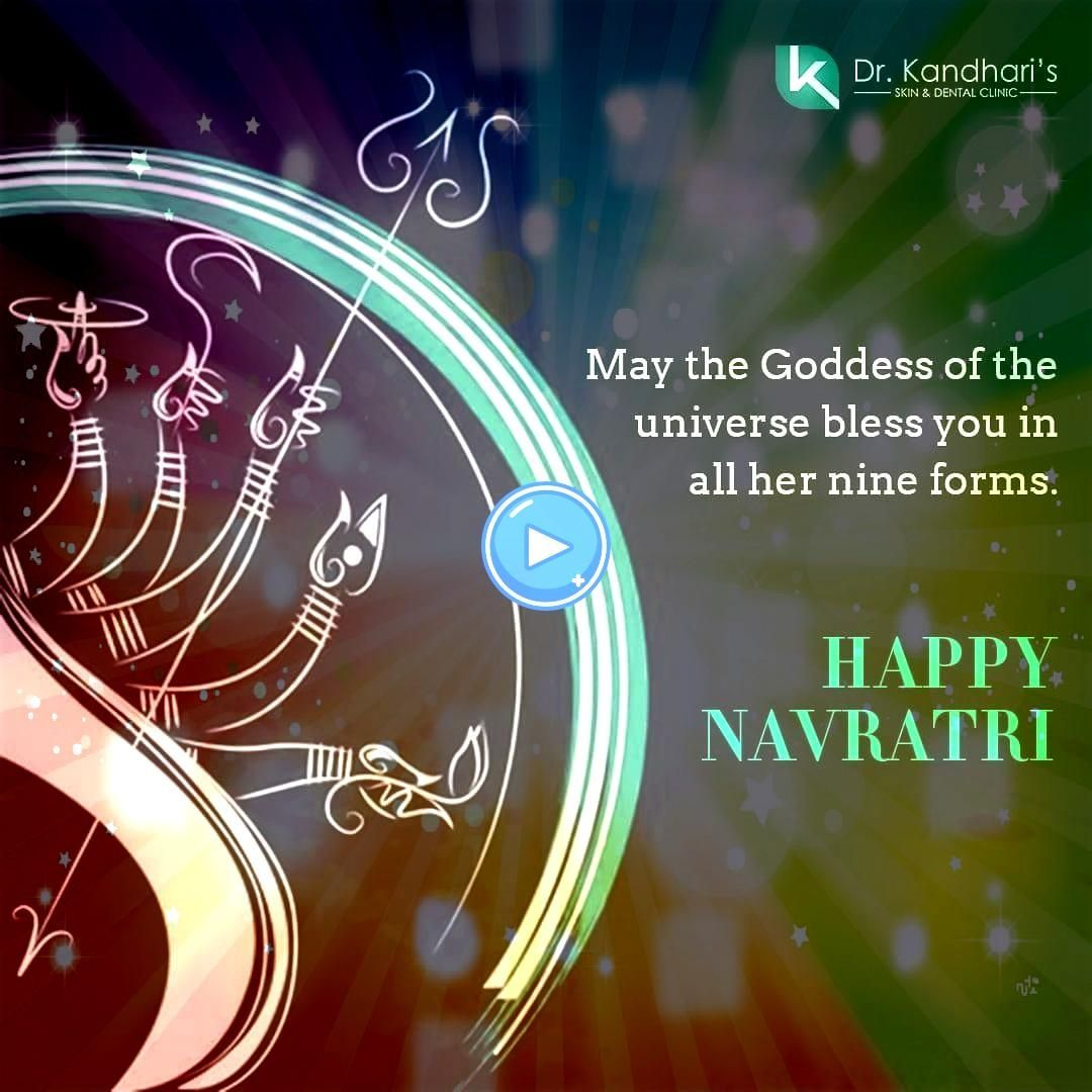The of nine nights of is here May our life be filled with on this pious of Wishing you all a Very The of nine nights of is here May our life be filled with on this pio... #navratriwishes #drkandhariclinic #navratrispecial #navratriwishes #happynavratri #beautifulskin #navratri2019 #festival2019 #celebration #aesthetics #happiness #navratri #bestlook #skincare #festival #goddessThe of nine nights of is here! May our life be filled with on this pious of Wishing you all a Very . . . The of nine nig #navratriwishes
