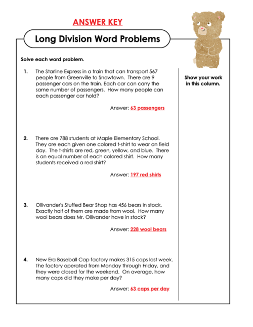 long division word problems 5th grade word problems long division free math worksheets. Black Bedroom Furniture Sets. Home Design Ideas