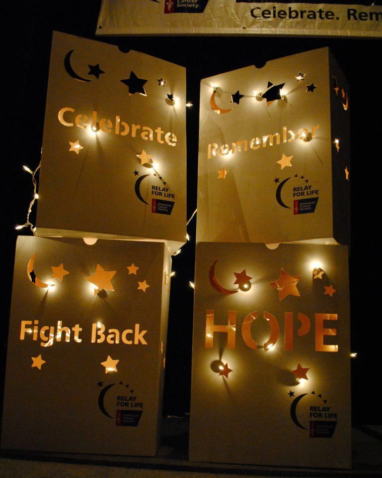 Rfl Large Luminaria Relay For Life Relay Life