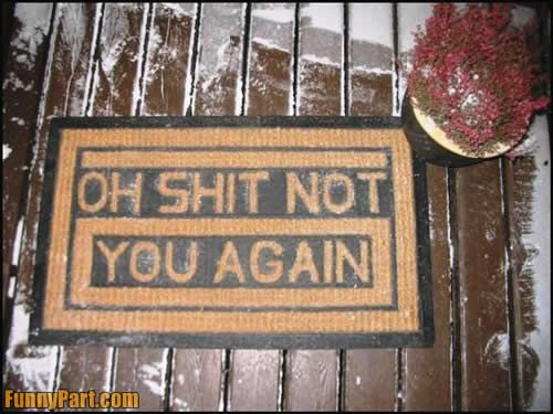 funny welcome mats - Google Search