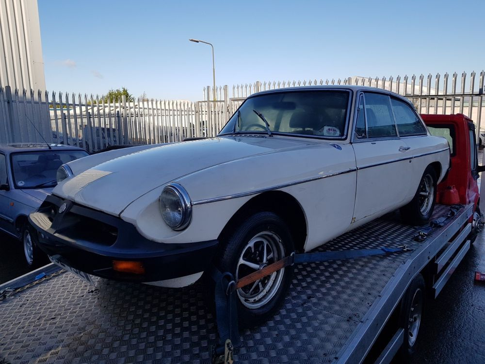 eBay: MGB GT - Barn Find - Been Stored last 15 years | UK