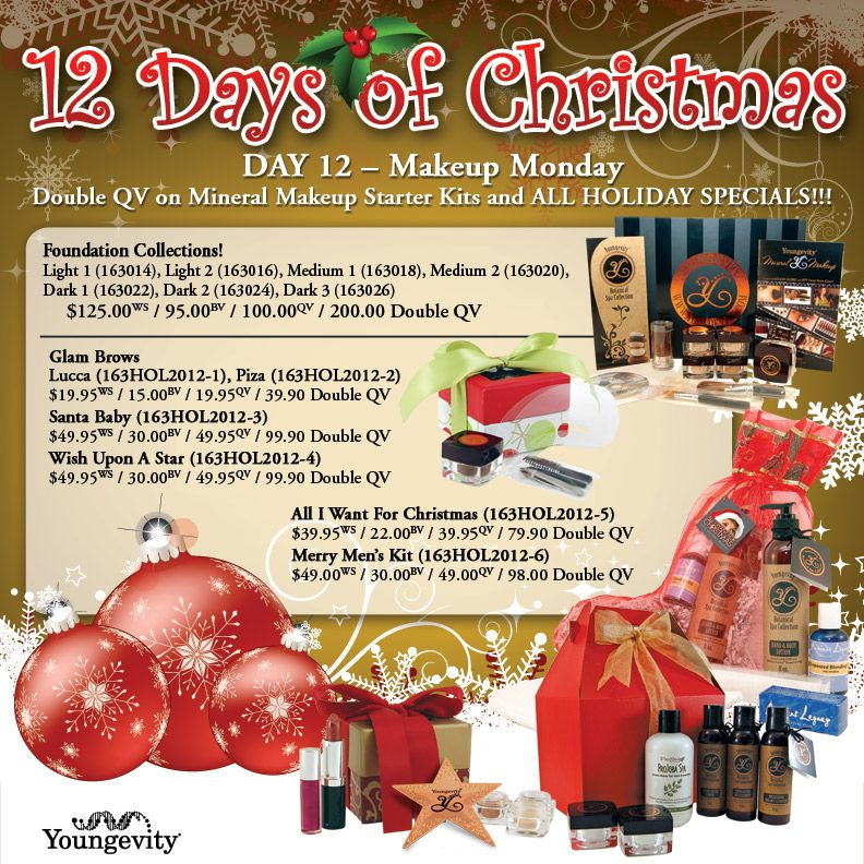 Youngevity Mineral Makeup Send me a message for more