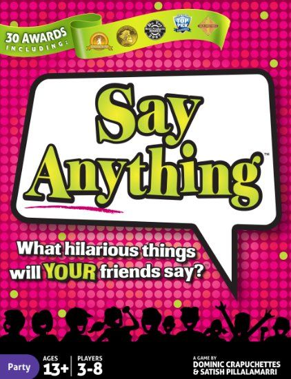Amazon Com Say Anything Toys Games Games Pinterest