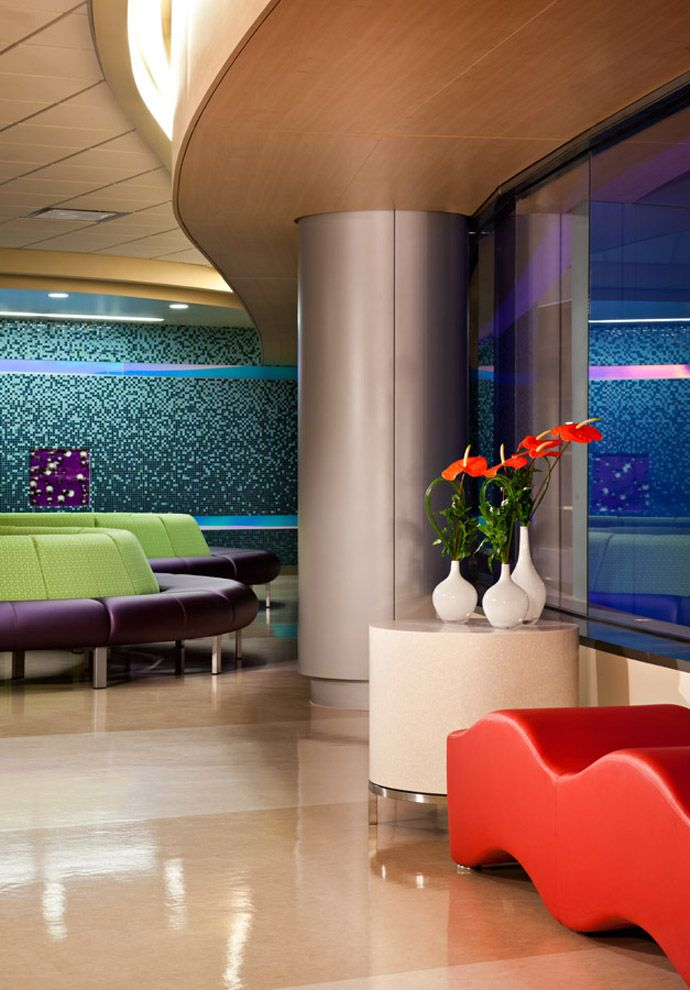 Hospital Room Interior Design: Arizona's Phoenix Children's Hospital By HKS Architects