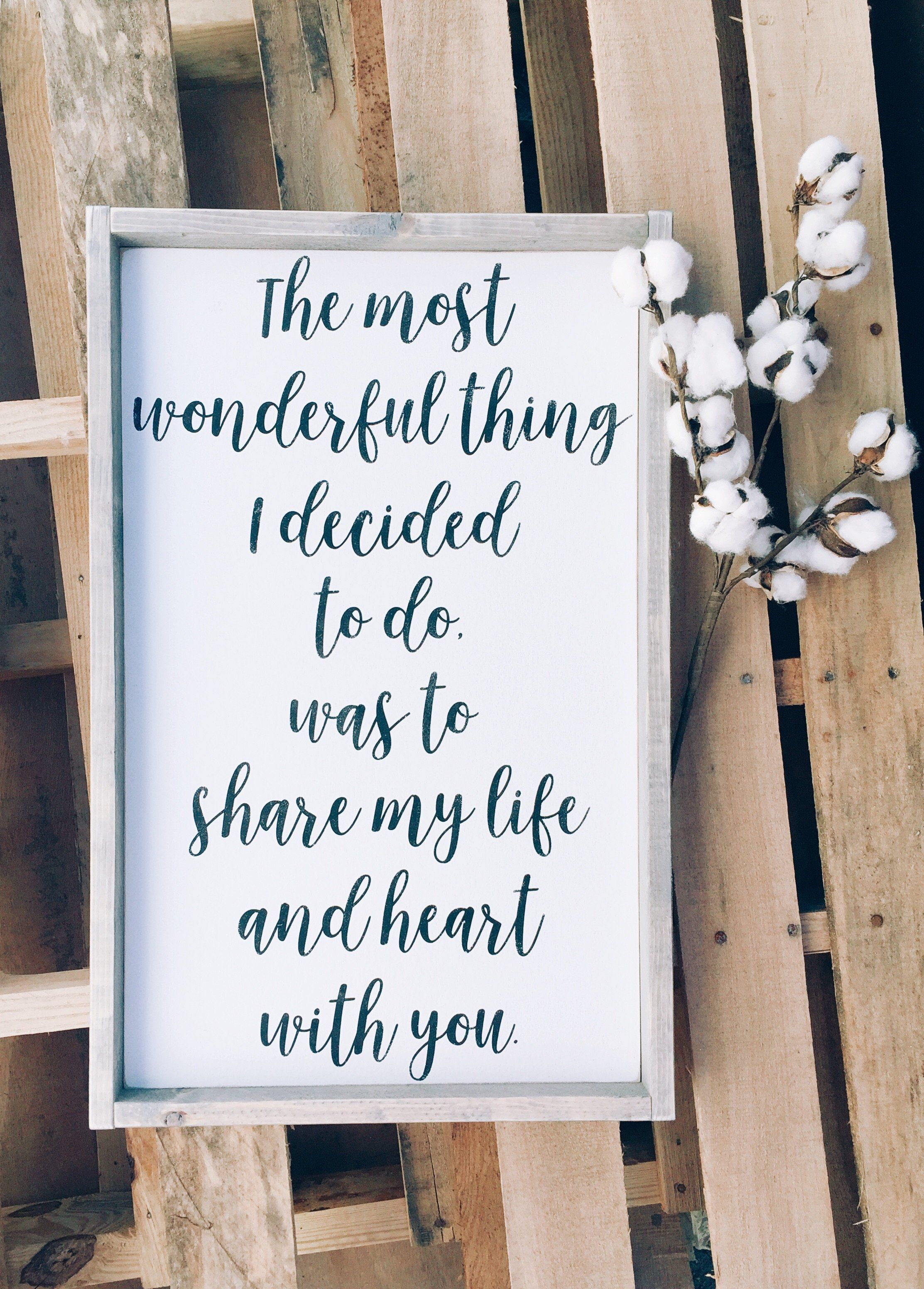 The Most Wonderful Thing | Wedding Details | Pinterest | Cricut ...
