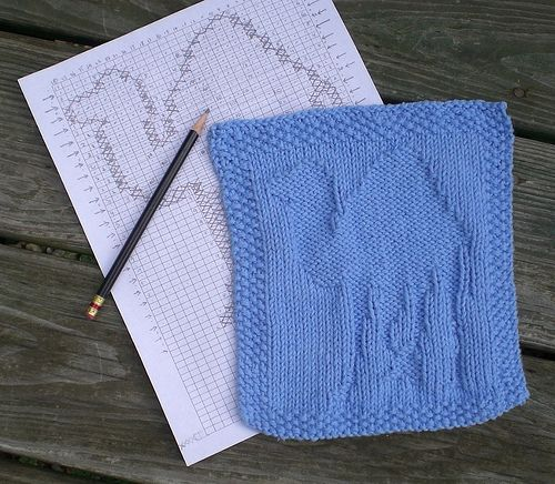 A dishcloth for Perl nerds. | Knit dishcloth pattern, Knit ...