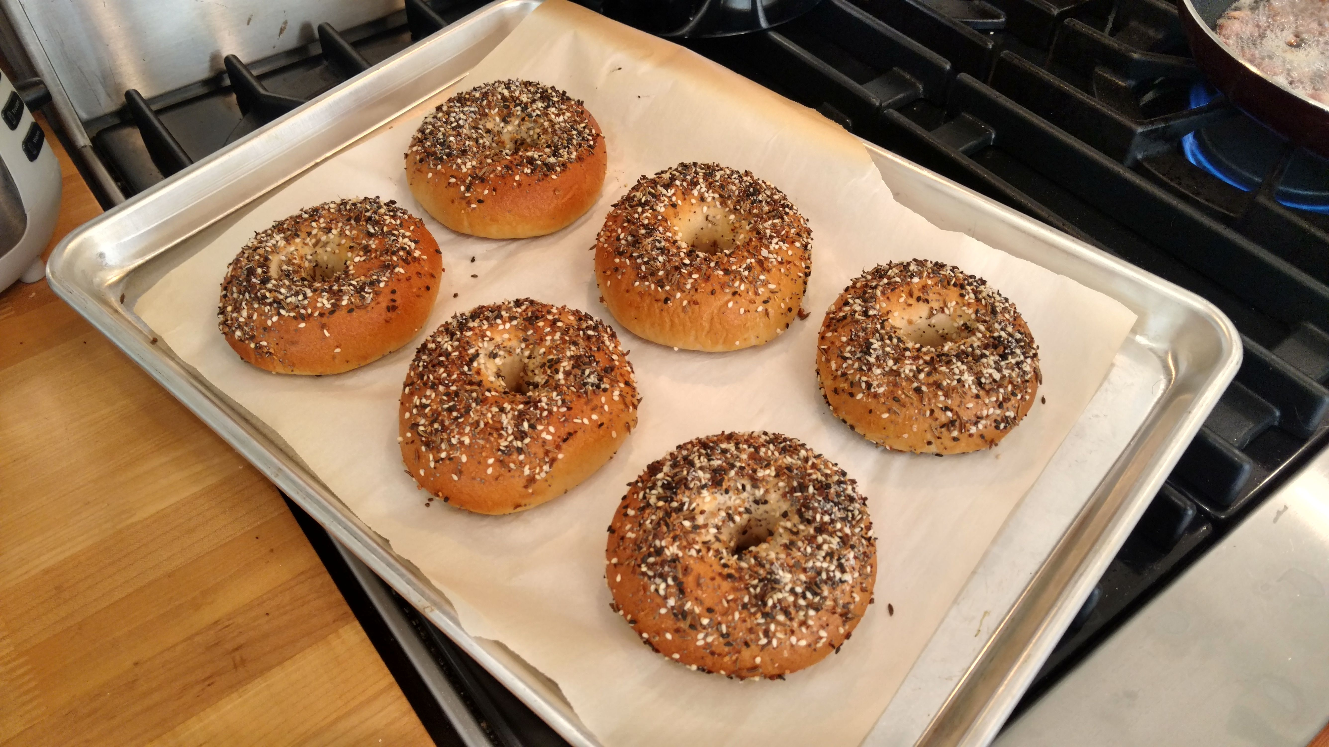 These bagels are...EVERYTHING