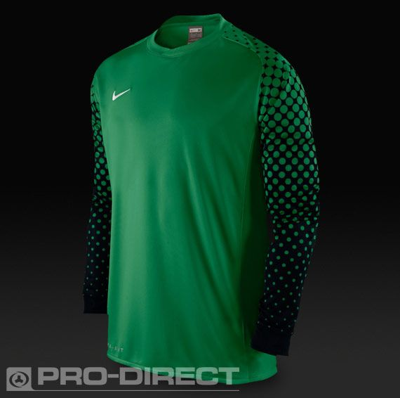 2b09633392492 Nike Park III Goalkeeping Shirt - Green/Black | soccer | Football ...
