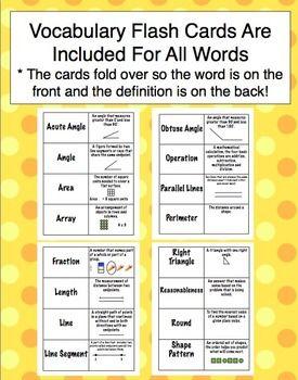 4th Grade Math Word Wall | Fabulous Fourth Grade | Math ...